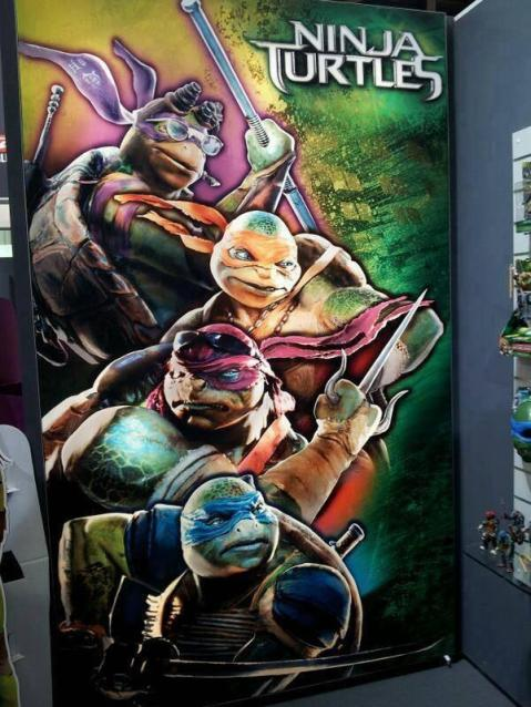 NInja Turtles  Finally Revealed?